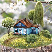 Для дома и интерьера handmade. Livemaster - original item Homeland SPRING
