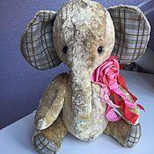 Куклы и игрушки ручной работы. Ярмарка Мастеров - ручная работа Слонёнок Соня. Handmade.