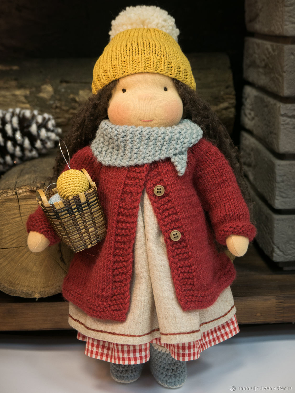 вальдорфская кукла Энн, Вальдорфская игрушка, Киев, Фото №1