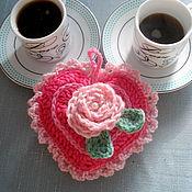 Подарки к праздникам ручной работы. Ярмарка Мастеров - ручная работа Сердечко, связанное крючком. Handmade.