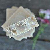 Косметика ручной работы. Ярмарка Мастеров - ручная работа Овсяное мыло натуральное, сваренное на овсяном киселе. Handmade.
