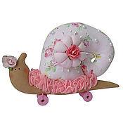 Куклы и игрушки ручной работы. Ярмарка Мастеров - ручная работа Улитка Тильда в в стиле шебби. Handmade.