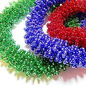 Украшения ручной работы. Ярмарка Мастеров - ручная работа Комплект браслетов из бисера, объемные браслеты. Handmade.