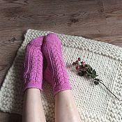 Аксессуары ручной работы. Ярмарка Мастеров - ручная работа Носочки женские Pink. Handmade.