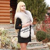 Одежда handmade. Livemaster - original item Fur vest Arctic Fox. Handmade.
