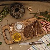 "Cutting Boards handmade. Livemaster - original item Доска для сервировки и подачи ""Хлеб-соль"". Handmade."