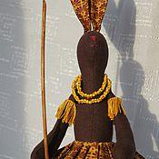 Куклы и игрушки ручной работы. Ярмарка Мастеров - ручная работа Заяц-папуас. Handmade.