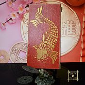Фен-шуй и эзотерика handmade. Livemaster - original item Box money, Money talisman, goldfish for Feng Shui. Handmade.