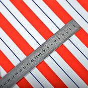 Материалы для творчества handmade. Livemaster - original item Diagonal Stripe fabric, diagonal stripe fabric. Handmade.