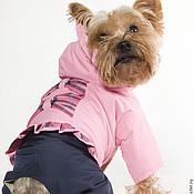 Для домашних животных, ручной работы. Ярмарка Мастеров - ручная работа Одежда для собак комбинезон Розовая Мечта. Handmade.