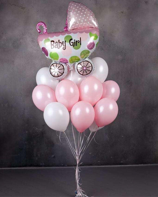 «Raduga_bubble» Сет Встречаем девочку, Подарки для новорожденных, Одинцово,  Фото №1