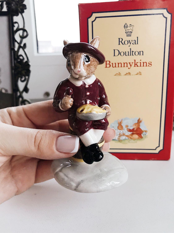 Zoznamka kráľovské Doulton bunnykins značky