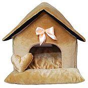 Для домашних животных, ручной работы. Ярмарка Мастеров - ручная работа Домик для собаки N10. Handmade.