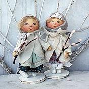 Куклы и игрушки ручной работы. Ярмарка Мастеров - ручная работа Ангелы ВЕРБНОГО ВОСКРЕСЕНЬЯ. Handmade.