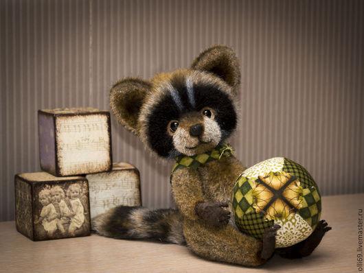Мишки Тедди ручной работы. Ярмарка Мастеров - ручная работа. Купить Енотик. Handmade. Коричневый, подарок на любой случай