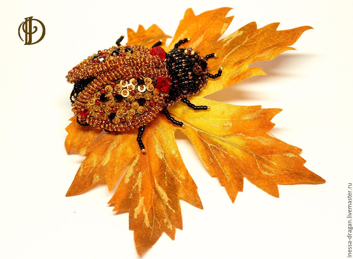 Ladybird Brooch, Brooches, Kishinev,  Фото №1