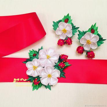 Works for children handmade. Livemaster - original item Belt for dress kit rubbers