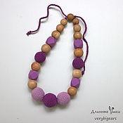 Одежда handmade. Livemaster - original item Slingobusy Lilac from juniper and silicone. Handmade.