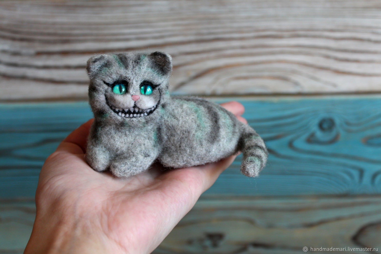 Cheshire cat from Alice toy pocket, Stuffed Toys, Moscow,  Фото №1