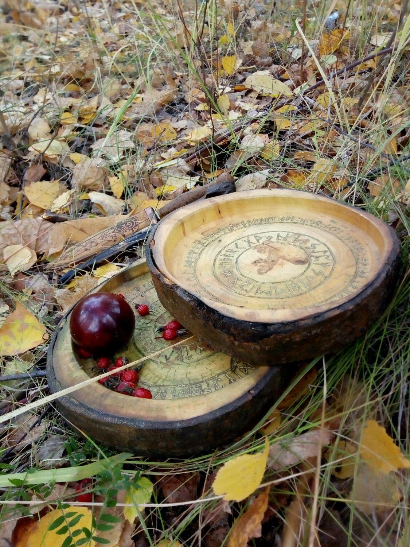 Рунический алтарь - круг для прорицания и работы с оракулом, Атрибутика, Рязань, Фото №1