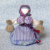 Куклы и игрушки ручной работы. Ярмарка Мастеров - ручная работа традиционная кукла Кубышка-травница. Handmade.