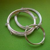 Серебряная проволока 1.2 мм серебро 925 пробы