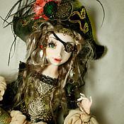 Куклы и игрушки ручной работы. Ярмарка Мастеров - ручная работа Пираточка. Handmade.