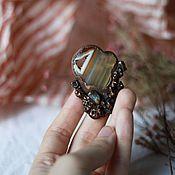 Украшения handmade. Livemaster - original item Copper brooch-pendant
