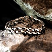 Украшения handmade. Livemaster - original item Men`s Bracelet silver of 925. Handmade.