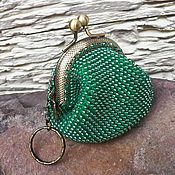 Сумки и аксессуары handmade. Livemaster - original item Coin purse , coin beaded