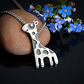 Украшения handmade. Livemaster - original item Suspension:Giraffe. Handmade.