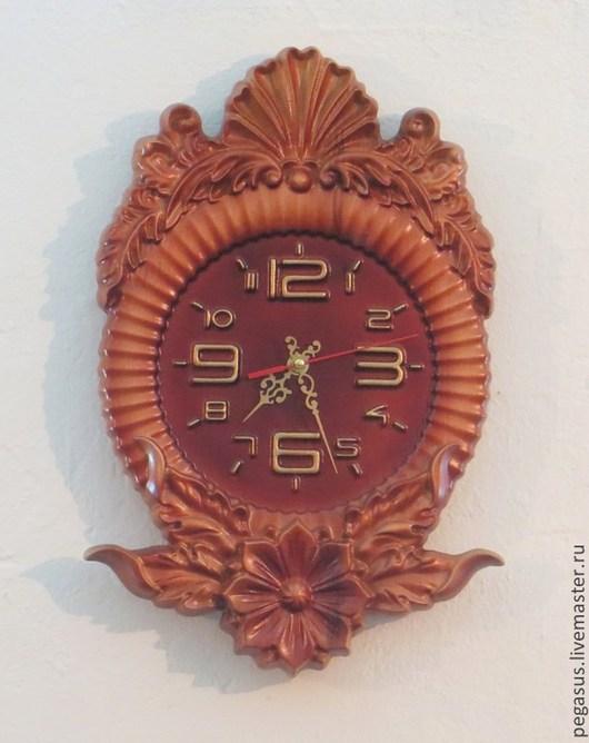"""Часы для дома ручной работы. Ярмарка Мастеров - ручная работа. Купить Часы для дома настенные """"Грёзы"""". Handmade. Элемент интерьера"""