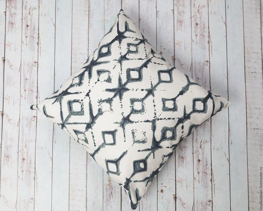 Текстиль, ковры ручной работы. Ярмарка Мастеров - ручная работа. Купить Чехол Tribal из американского хлопка. Handmade. Подушка, Декор