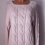 Одежда ручной работы. Ярмарка Мастеров - ручная работа Джемпер нежно-розовый. Handmade.