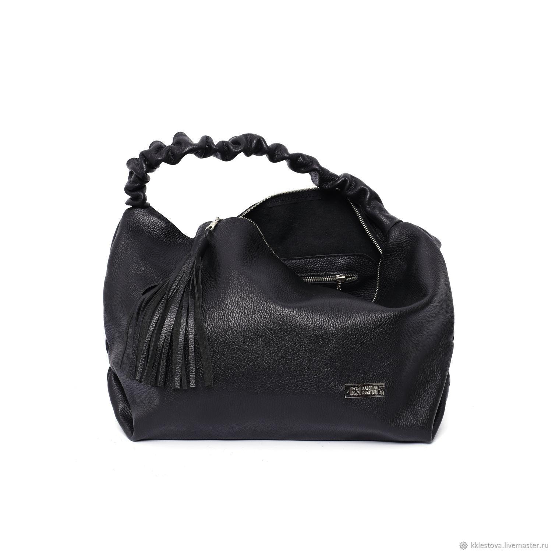 6b85487aa427 ... Женские сумки ручной работы. Сумка - Мешок - Хобо - Шоппер с внутренним  карманом и