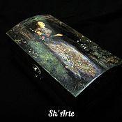 Субкультуры handmade. Livemaster - original item Goth casket coffin Ophelia. Handmade.
