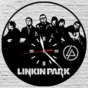 Для дома и интерьера ручной работы. Ярмарка Мастеров - ручная работа Часы настенные из акрилового стекла Linkin Park. Handmade.