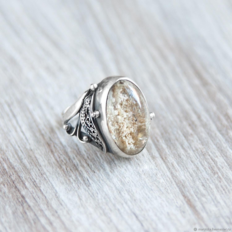 Aquarium quartz (circle) (716), Rings, Tambov,  Фото №1