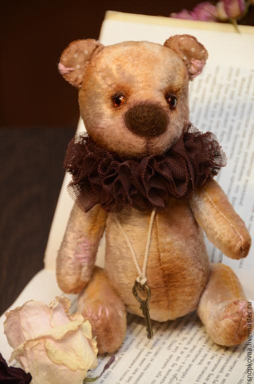Мишки Тедди ручной работы. Ярмарка Мастеров - ручная работа. Купить Маркус. Handmade. Бежевый, мишка тедди, коллекционные игрушки
