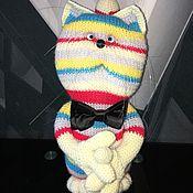 Куклы и игрушки ручной работы. Ярмарка Мастеров - ручная работа Игрушка вязаная КОТОФЕИЧ. Handmade.