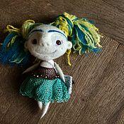Куклы и пупсы ручной работы. Ярмарка Мастеров - ручная работа Войлочная кукла «Кэти». Handmade.