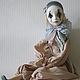 Коллекционные куклы ручной работы. Пьерошка. Подвижная кукла. Симукова Татьяна (simtatu). Ярмарка Мастеров. Кукла ручной работы, текстиль