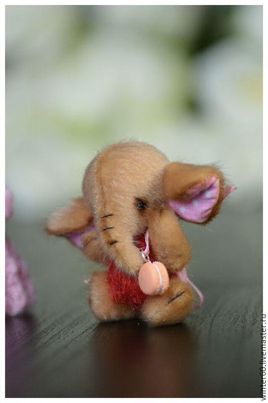 Мишки Тедди ручной работы. Ярмарка Мастеров - ручная работа. Купить Слоненок Топотуша 2. Handmade. Бежевый, тедди, шерсть
