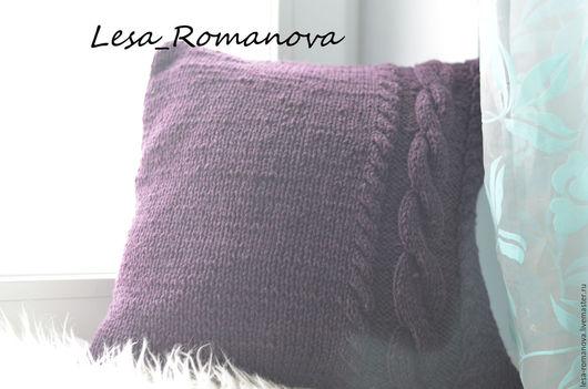 Текстиль, ковры ручной работы. Ярмарка Мастеров - ручная работа. Купить вязаная подушка. Handmade. Вязаная подушка, для фотосессий