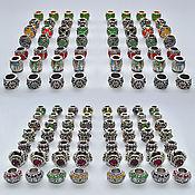 Материалы для творчества handmade. Livemaster - original item Tibetan beads in stock. Handmade.