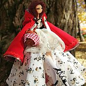 Куклы и пупсы ручной работы. Ярмарка Мастеров - ручная работа Авторская кукла. Красная Шапочка. Handmade.