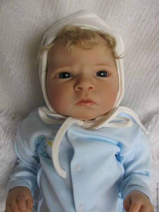 Куклы-младенцы и reborn ручной работы. Ярмарка Мастеров - ручная работа. Купить Кукла реборн. Handmade. Белый, Рева Шик
