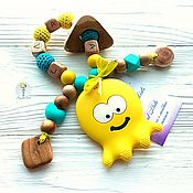 Куклы и игрушки handmade. Livemaster - original item Teething toy