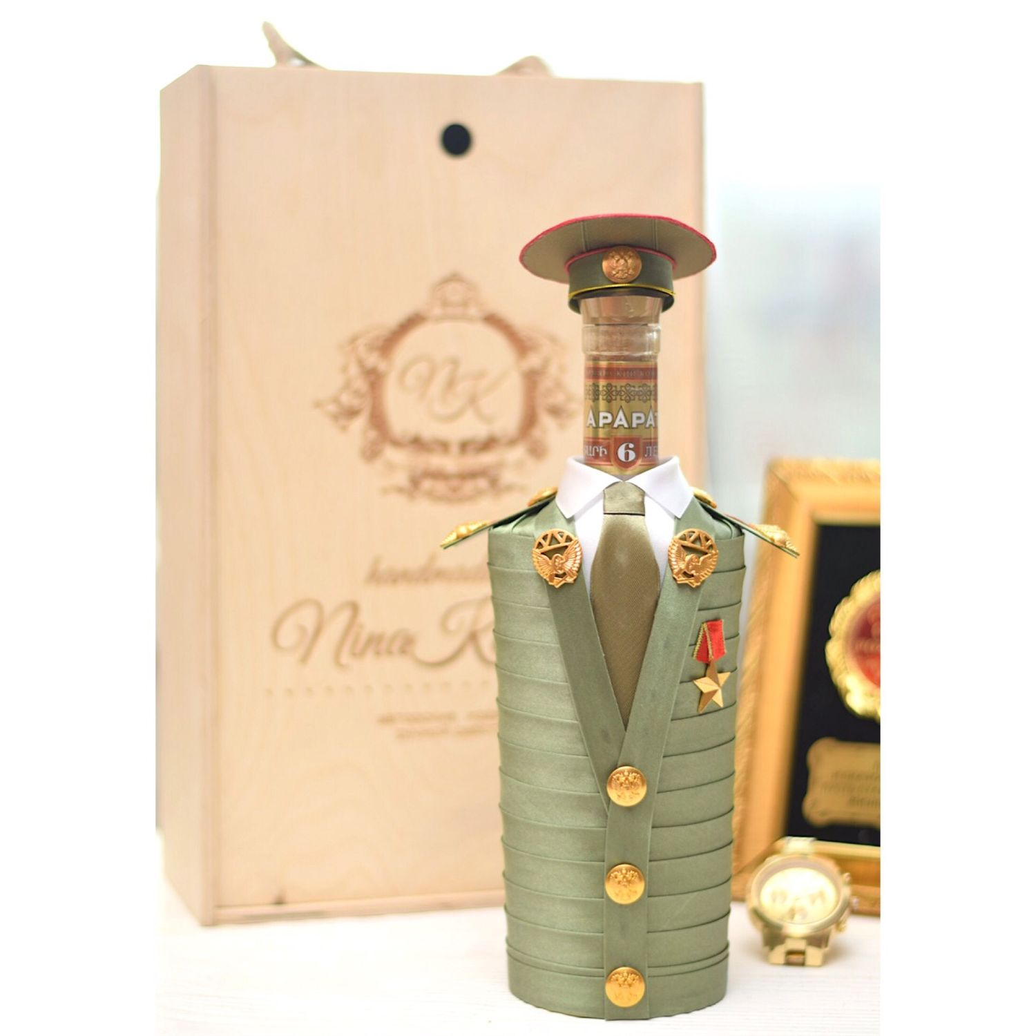 Gift boxes: Gift to a male military officer on February 23, Gift Boxes, Moscow,  Фото №1