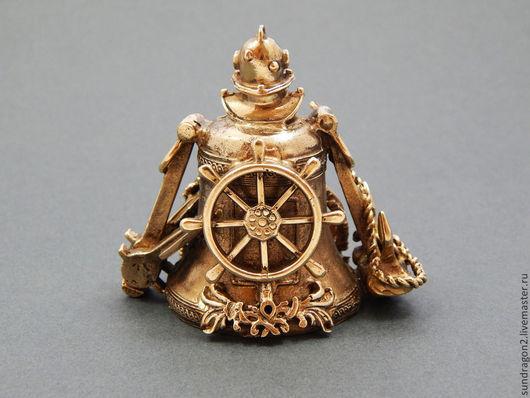 """Колокольчики ручной работы. Ярмарка Мастеров - ручная работа. Купить колокольчик из бронзы ручной работы """"Мой капитан"""". Handmade. Колокольчик"""